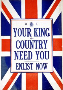 Puzzle Grafika - Your King and Country need You - Enlist now!, 1.000 piese (45591)