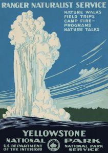 Puzzle Grafika - Yellowstone, USA, 1938, 1.000 piese (45609)