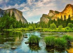 Puzzle Grafika - Yosemite National Park WebsiteDirections, USA, 300 piese (57045)