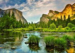 Puzzle Grafika - Yosemite National Park, USA, 1.500 piese (57047)