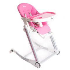 Scaun de masa Bo Jungle pentru copii, reglabil pe inaltime,  Roz