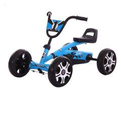 Kart Kido K 80 pentru copii  cu varsta intre 2-5 ani,albastru ,roti cauciuc Eva