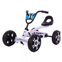 Kart Kido K 80 cu pedale pntru copii varsta 2-5 ani,roti cauciuc Eva