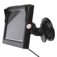 Display auto LCD de 5″ D706-B cu ventuza pentru parbriz