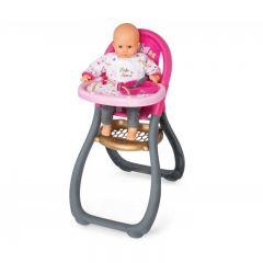 Scaun de masa Smoby pentru papusi Baby Nurse