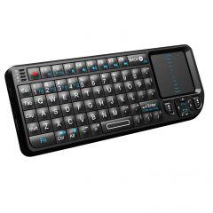 Mini tastatura wireless cu touchpad, Smart TV, Smartphone, PC, cu laserpoint pentru prezentari