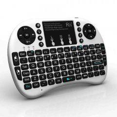 Mini tastatura bluetooth cu touchpad compatibila Smart TV