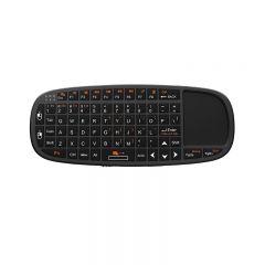 Mini tastatura wireless cu mouse si telecomanda pentru prezentari