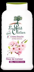 Gel de dus cu flori de cires Le Petit Olivier 500ml