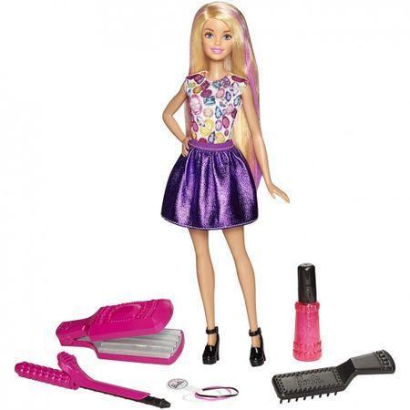 Carrefour Romania Set De Joaca Barbie Papusa Si Accesorii Coafura