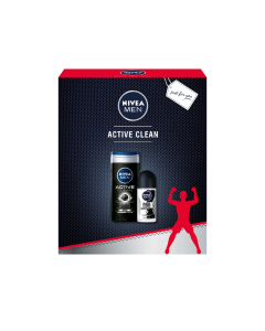 Set cadou Nivea Men Active Clean