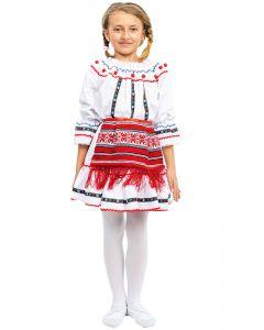 Costum popular fete Maria   110 cm (3-4 ani)