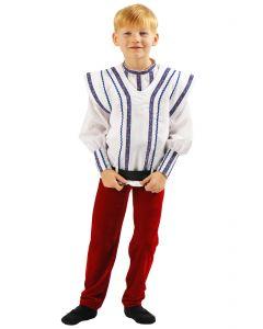 Costum popular Harap Alb copii   130 cm (6-7 ani)