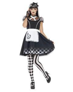 Costum Alice in Tara Minunilor Halloween    XS