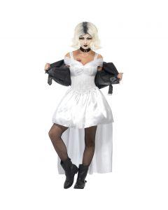 Costum mireasa lui Chucky cu geaca    M