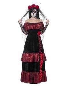 Costum Mireasa Halloween latino   S