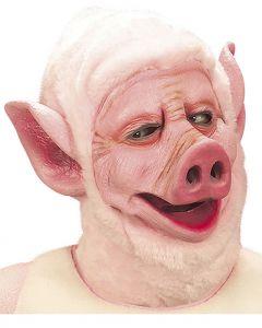 Masca porc latex cu urechi clapauge