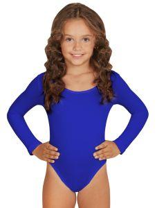 Body albastru cu maneca lunga copii    150 cm (10-12 ani)