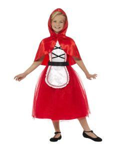 Costum scufita rosie carnaval copii   115 cm (4-5 ani)