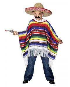 Costum poncho mexican copil