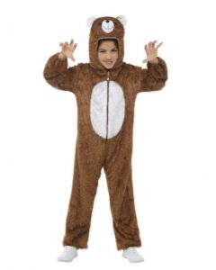 Costum urs copii plus   120 cm (5-6 ani)