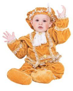 Costum bebe print din catifea   62 cm (2-4 luni)  Rosu