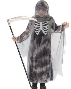 Costum schelet Stapanul Intunericului glow   120 cm (5-6 ani)