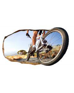 Fototapet 3D Startonight Roata de bicicleta, luminos in intuneric, 2.20 x 1.20 m