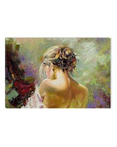 Tablou DualView Startonight Spate de femeie, luminos in intuneric, 80 x 120 cm