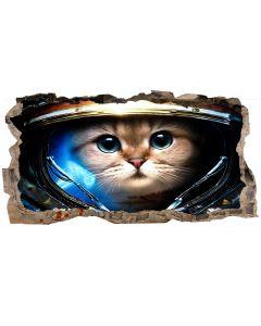 Fototapet 3D Startonight Astronaut, luminos in intuneric, 1.50 x 0.82 m