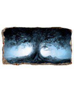 Fototapet 3D Startonight Copacul, luminos in intuneric, 1.50 x 0.82 m