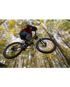 Fototapet Startonight Saritura cu bicicleta, luminos in intuneric, 3.66 x 2.56 m