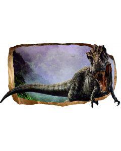 Fototapet 3D Startonight Dinozaur Jurasic, luminos in intuneric, 1.50 x 0.82 m
