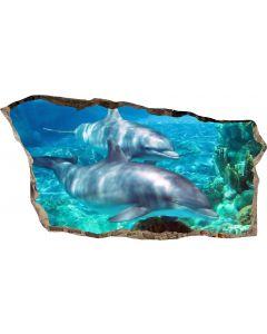 Fototapet 3D Startonight Delfini, luminos in intuneric, 2.20 x 1.20 m
