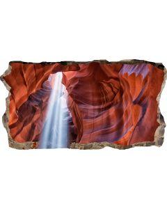 Fototapet 3D Startonight Din pestera, luminos in intuneric, 2.20 x 1.20 m