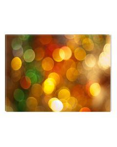Tablou DualView Startonight Cercuri colorate, luminos in intuneric, 20 x 30 cm