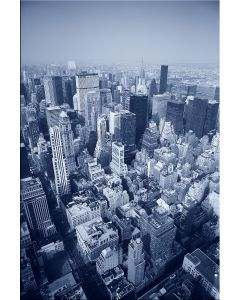Tablou DualView Startonight New York din elicopter, luminos in intuneric, 40 x 60 cm