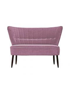 Canapea doua locuri, Fitz, 296606HND, Roz