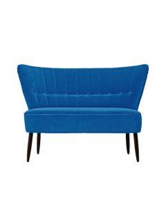Canapea doua locuri, Fitz, 677578HND, Albastru