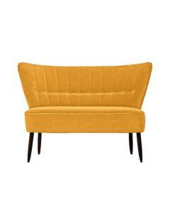 Canapea doua locuri, Fitz, 606796HND, Galben