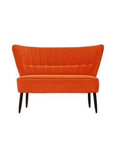 Canapea doua locuri, Fitz, 123661HND, Portocaliu