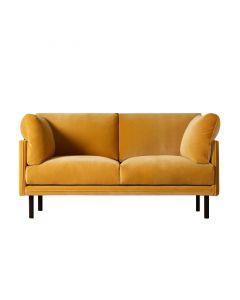 Canapea doua locuri, Merano, 432194HND, Galben