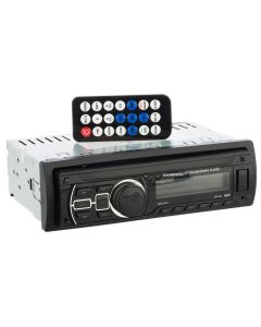 Radio auto bluetooth, MP3/WMA Player Soundvox™ 374, 4 x 25W, USB, SD, AUX, RCA, panou frontal detasabil, telecomanda