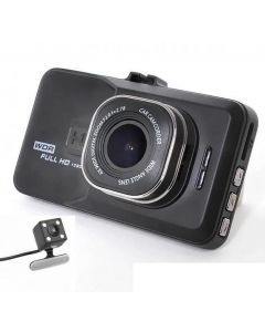 Camera auto dubla Full HD Soundvox™, 5 Mega, cu senzor de miscare. Dual lens vehicle BlackBox DVR