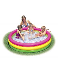 Piscina Gonflabila pentru Copii, Model 57422, Design Rainbow, 290 L, 147 x 33 cm