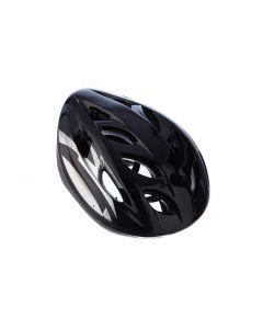 Casca Protectie Bike, pentru Tineret si Adulti, Sistem reglabil, Curele Barbie, Guri de Aerisire, 57-62 cm, Neagra