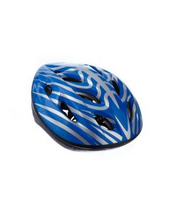 Casca Protectie Bike, pentru Tineret si Adulti, Sistem reglabil, Curele Barbie, Guri de Aerisire, 57-62 cm, Albastra