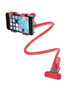 Suport universal pentru telefon Lazy Bracket, rosu