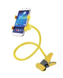 Suport universal pentru telefon Lazy Bracket, galben