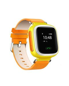 Ceas Smartwatch pentru copii M03B, GPS Tracker + Telefon, Alarma SOS, Galben